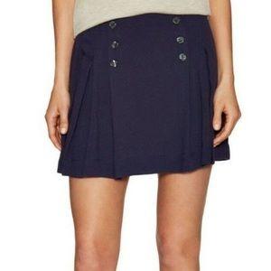 Free People Navy Mini Skirt NWOT 6